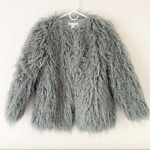 Fuzzy H&M Coat